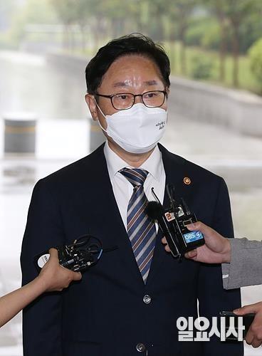 박범계 법무부 장관 ⓒ박성원 기자